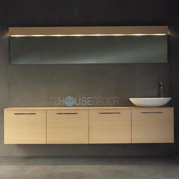 Light Oak Bathroom Furniture Design - Block2 by Moab 80