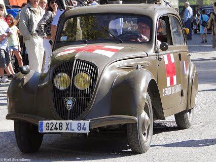 Peugeot 202 - Service de Santé Fête de la Libération (WW2 Liberation Day) Puget-Théniers, Alpes Maritimes Google+