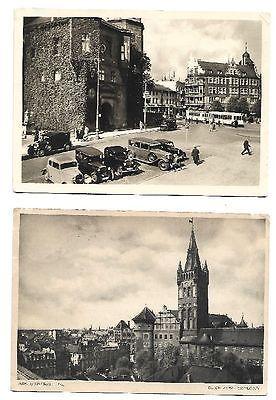 KÖNIGSBERG i. Pr.  Drei Foto Ansichtskarten von 1934.  Siehe Bild.