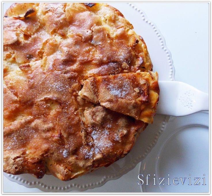 Sfizi & Vizi: Torta da colazione con le mele  (senza olio e senz...