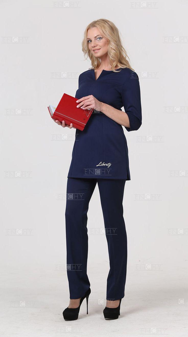 Деловая офисная одежда для женщин оптом, форменная одежда в Москве и Санкт-Петербурге