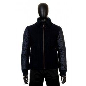 Antony Morato - czarna kurtka z wełny - Fashioncode.pl