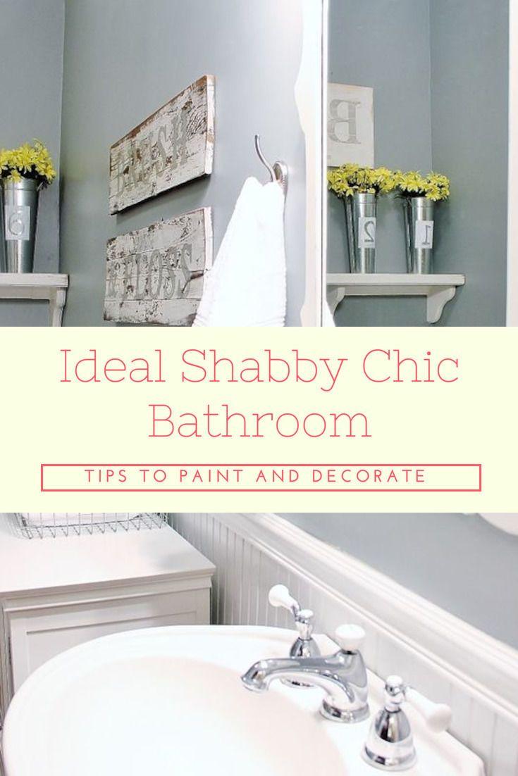 Shabby Chic Bathroom Accessories