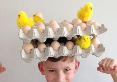 Easter bonnet idea for a boy
