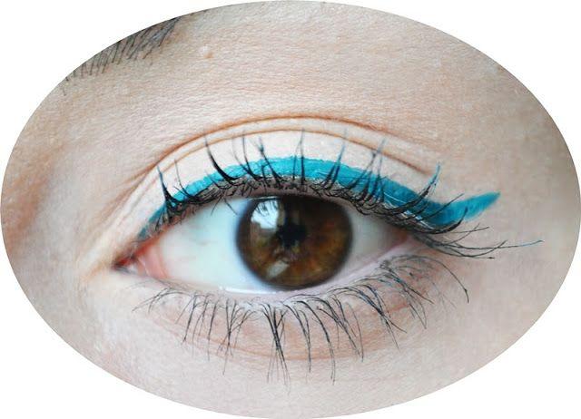 #makeup #me #girl #polishgirl #eyeliner #blue