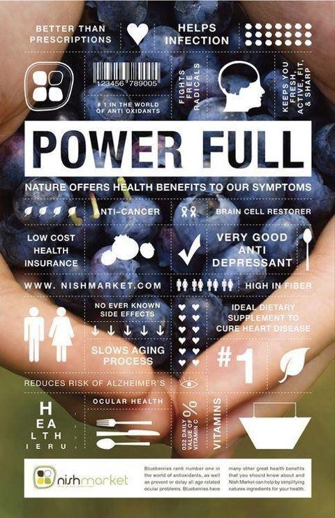 Power Full Blueberries