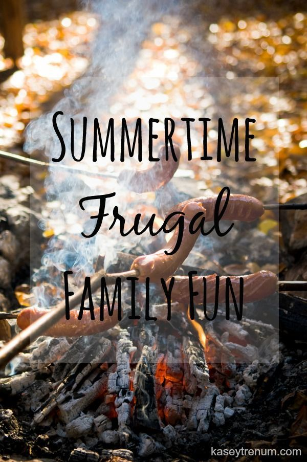 Summertime Frugal Family Fun
