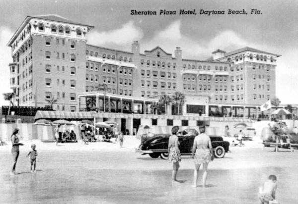 Florida Memory Sheraton Plaza Hotel Daytona Beach Historical And Ormond In 2018