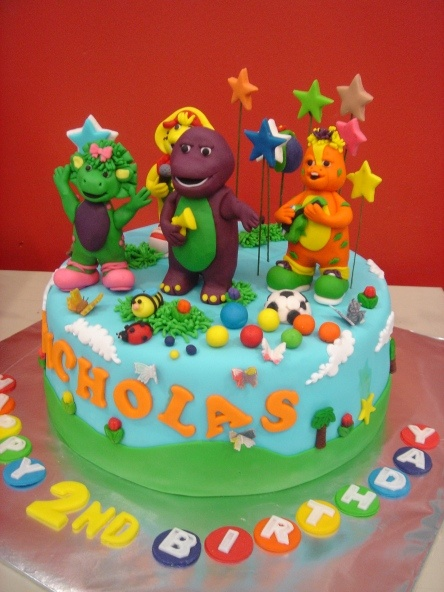 73 best Barney images on Pinterest Barney party Birthday cakes