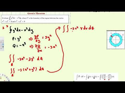 Ex  Use Green's Theorem to Evaluate a Line Integral Polar - Vector Calculus