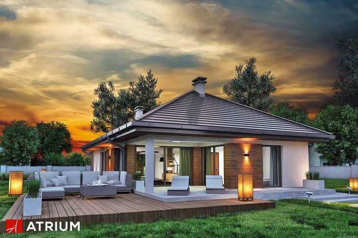 Projekt Sfinks VI - elewacja domu