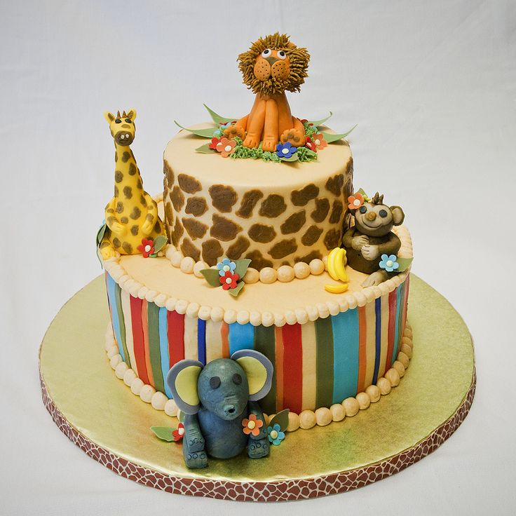 44 Best BABY SHOWER JUNGLE/SAFARI CAKES & EATS Images On