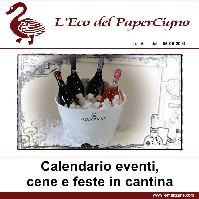 Papercigno by Le Manzane - Calendario eventi maggio-giugno 2014