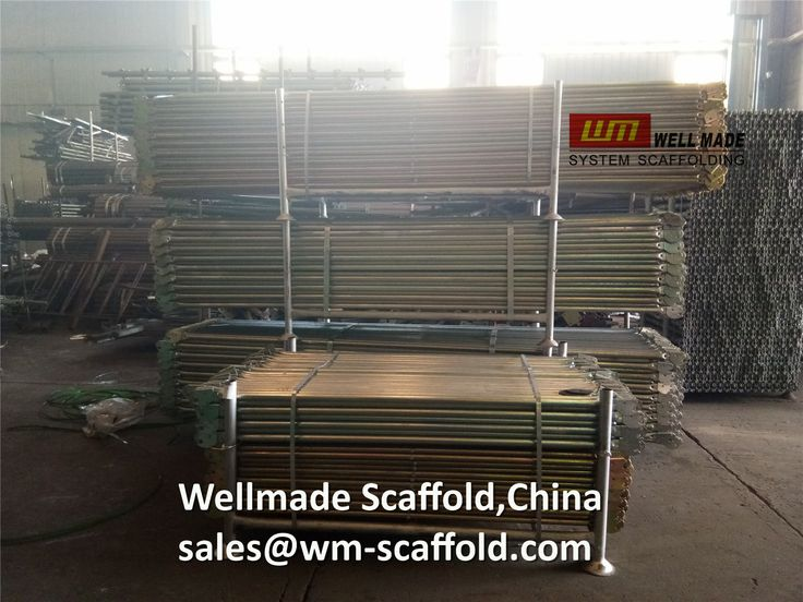 Formwork Scaffolding Materials: Snap On Scaffolding Frame Cross Braces and Guard R...