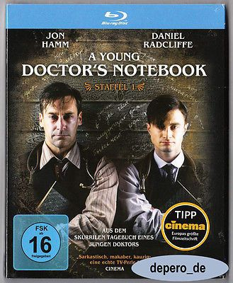 A YOUNG DOCTOR'S NOTEBOOK - Season One - Daniel Radcliffe - TV Series BLU RAY