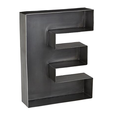 "Large Metal Wall Letters 33 best types of ""e"" images on pinterest 