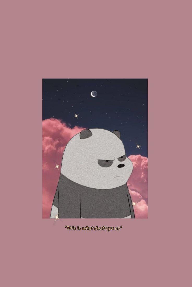 Wbb Wallpaper Aesthetic Hasote Cute Panda Wallpaper Cute Disney Wallpaper Bear Wallpaper Aesthetic wallpaper cartoon bear