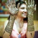 Arabic Dulhan Mehndi Designs 9