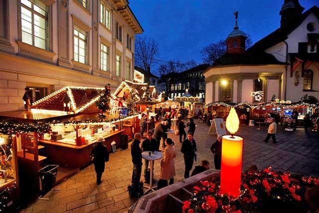 LUZERN Franziskanerplatz - 04.12.2014 to 21.12.2014. Times: 11.00 - 20.00