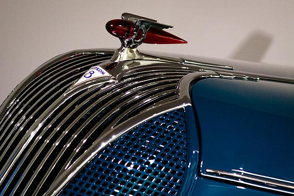 1936 Hudson 65 Custom 8 Convertible   Hood Ornaments ...