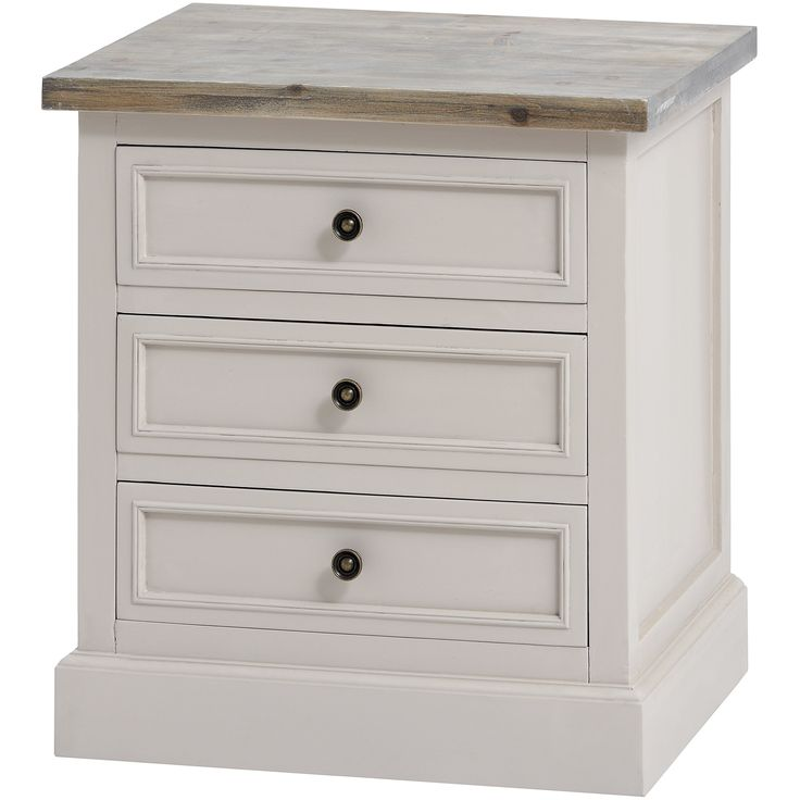 The Studley Collection 3 Drawer Side Table | From Baytree Interiors