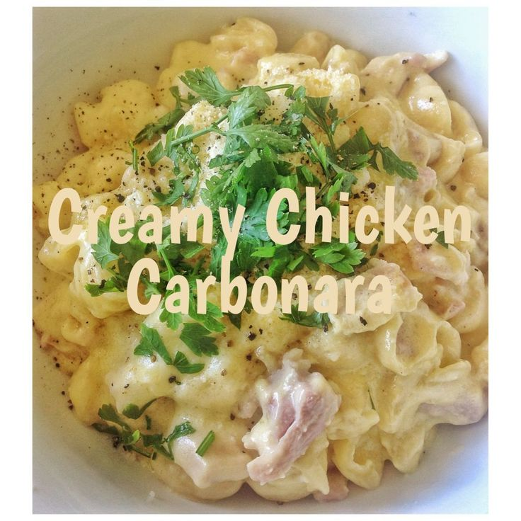In Italy, Carbonara is traditionally served without cream, just bacon, egg, pasta and parmesan. This is because even though lovely creamy saucesare delicious, Italians are all about highlighting t…