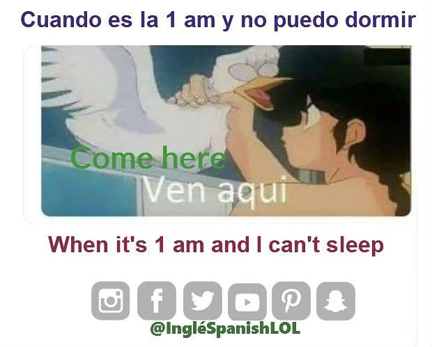 Learn Spanish With Funny Bilingual Memes How To Speak Spanish English Memes Learning Spanish