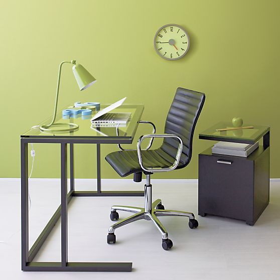 Possible New Desk For The Office Pilsen Desk From Crate Barrel