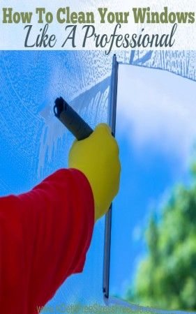 Have you always wondered how the professionals get glass and windows so sparkling clean?  They're organized in how they complete their step by step process.  Find out how.  You'll be amazed at what they use as a cleaning solution.