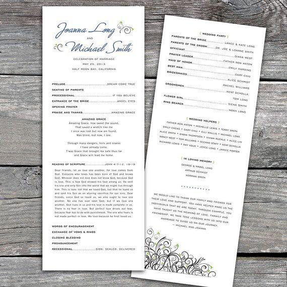 Scripture Reading On Program Wedding