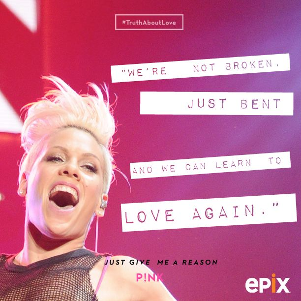 P Nk Quotes About Love : 57 Best Images About P!nk Quotes On Pinterest Like You, Gay - 612x612 ...