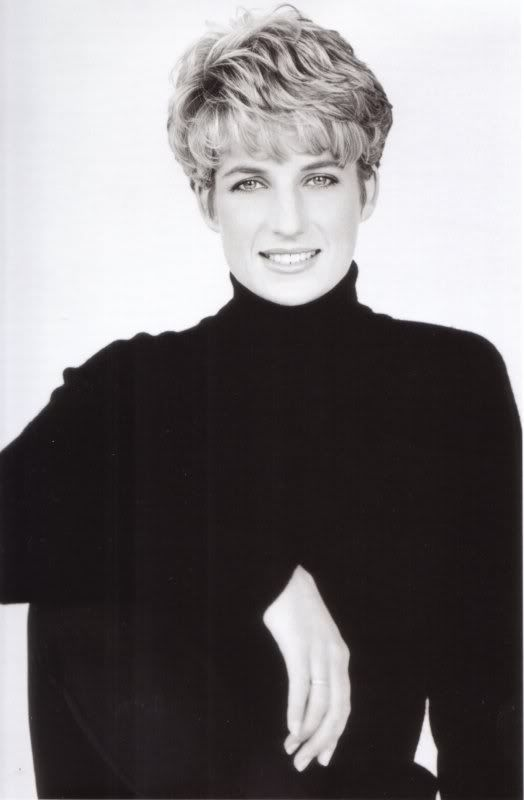 Princess Diana photo Diana-In-Black--White123.jpg
