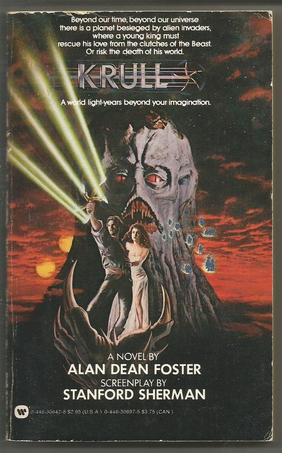 Warner Books Alan Dean Foster: Krull 1984 MTI by PurkeysPaperbacks