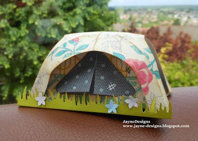 Make this for Hayley.  Camping Critters Cart