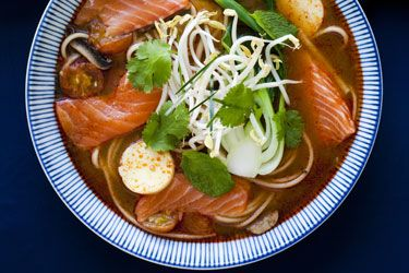 Regal Salmon Tom Yum recipe – visit Food Hub for New Zealand recipes using local ingredients – foodhub.co.nz