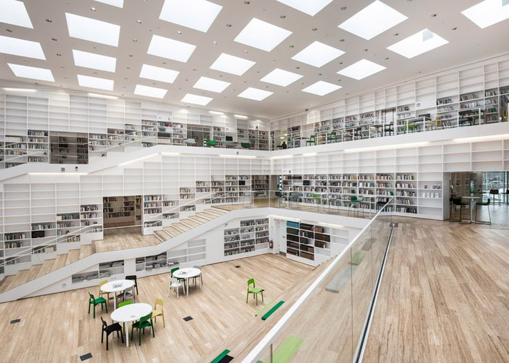 World Architecture Festival 2014 day one winners announced - Higher Education and Research category winner: Dalarna Media Library by Adept.