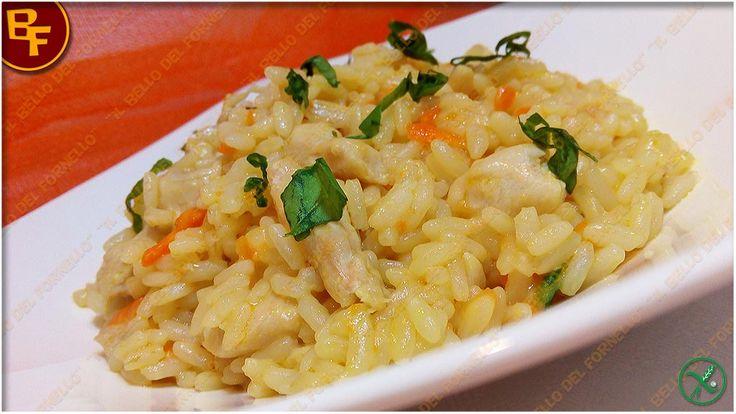 Risotto con pollo e carote al curry 01