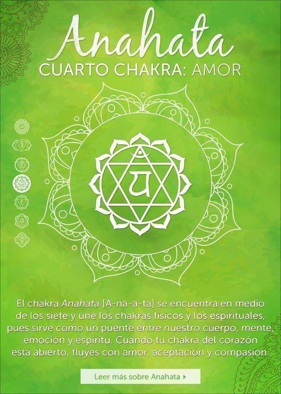 """También regula el sistema linfático. El vocablo sánscrito para el cuarto chakra es Anahata, que significa """"liberado"""" o """"ileso"""". El nombre quiere decir que, más"""