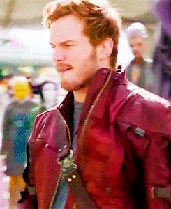 Chris Pratt-- Im sorry, but guys biting their lips is HOOOOTTT and I think this man has an unconscious habit of doing it