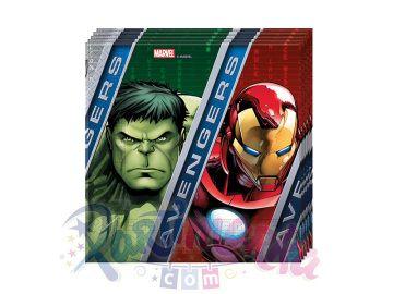 Avengers Yenilmezler Doğum Günü Peçetesi