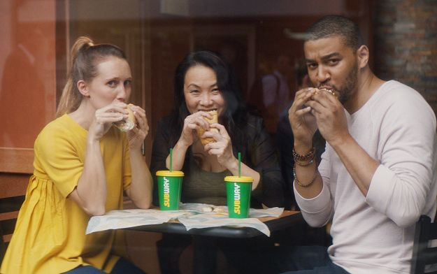 "Ad of the Day | Subway stores challenges office workers to Say goodbye to ""blandwiches"" and hello to New Rotisserie-Style Chicken Sub"