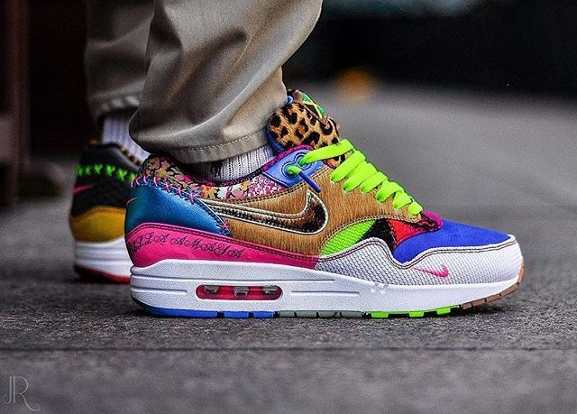 aa5179bbb Idée et inspiration Sneakers Nike Image Description Nike Air Max 1 Bespoke  Daughter –  solelove1