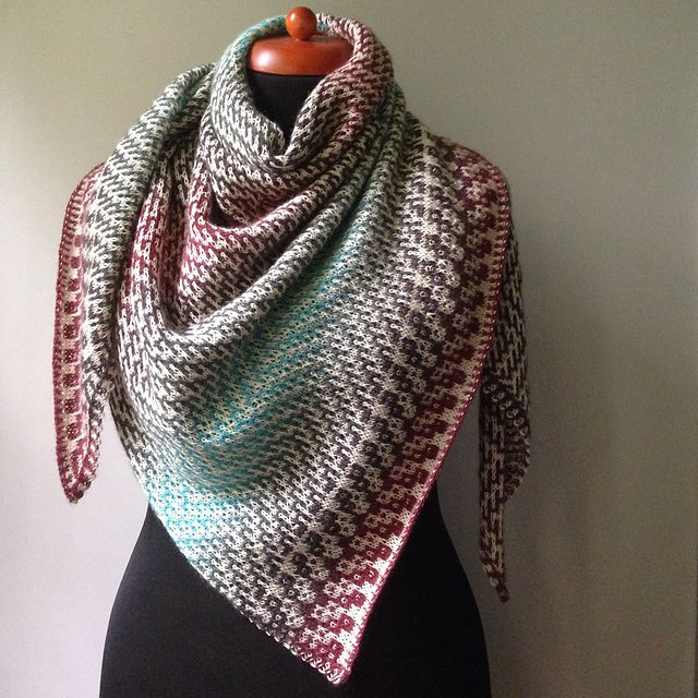 Ravelry: himawari's Dovetail, pattern by Judy Marples