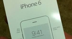 Review:iPhone 6 release date 'confirmed' by leaked Image The iPhone 6's release date has come into view to be confirmed as a picture of what a French blog claims is its promotional artwork has appeared online.