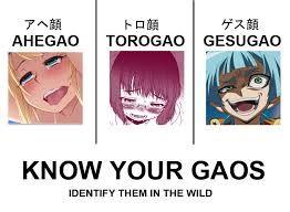 Resultado de imagen para ahegao face anime