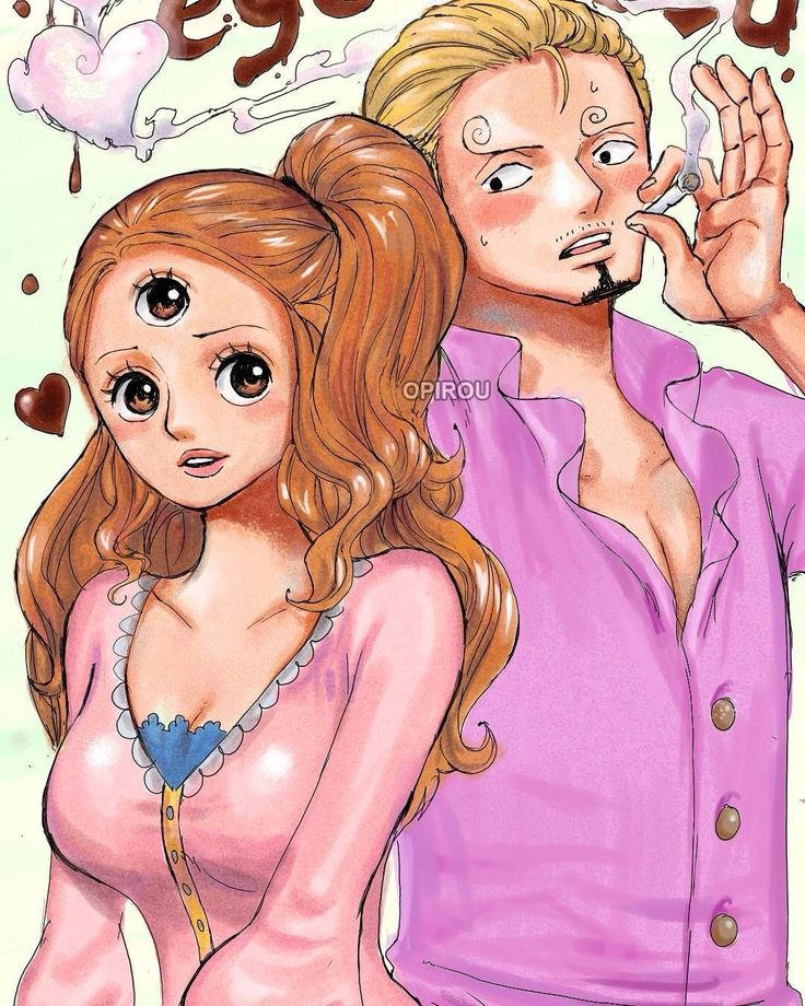 sanji and pudding YASSS I ship them. Well...not yet ....I gotta find out if puddin is really trusting for the straw hats ......