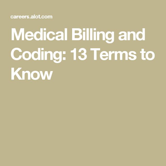 Medical Billing and Coding: 13 Terms to Know