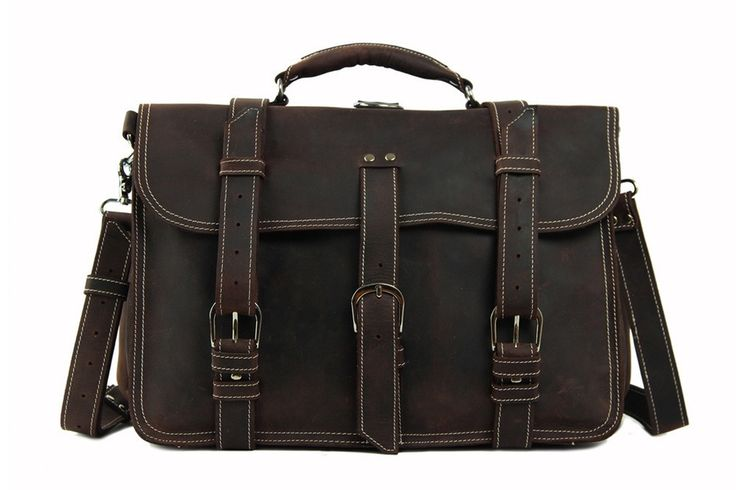 Bags : Handcrafted Super Large Multi-Use Genuine Leather Travelbag