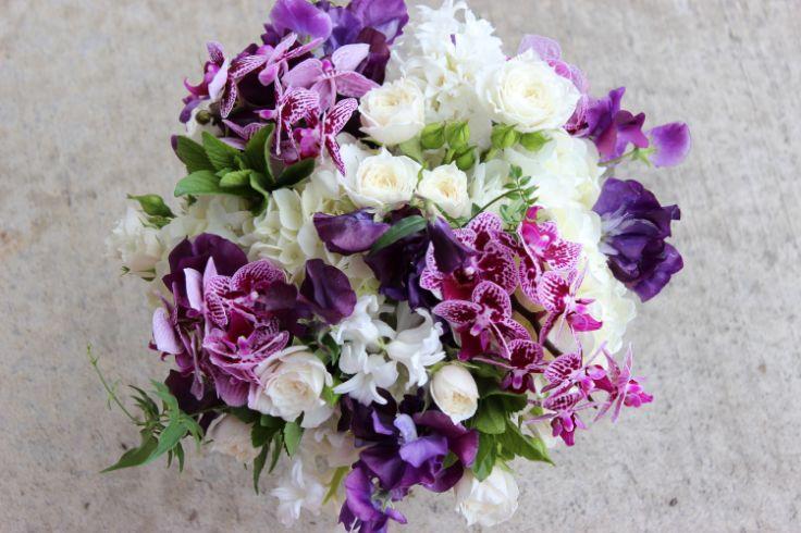393 Best Purple Wedding Flowers Images On Pinterest