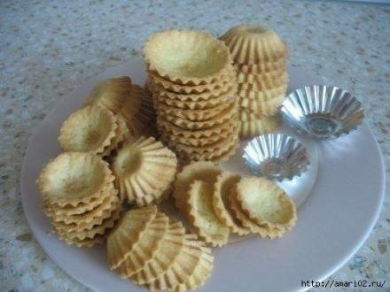 Сладкие и не сладкие тарталетки на праздничный стол. | Кулинарные Рецепты